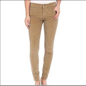 NWT Levi's Corduroy 710 Super Skinny  Pants